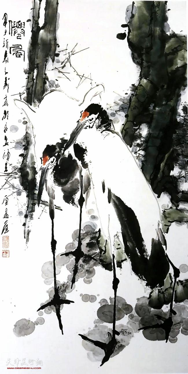 王子武先生作品:清风
