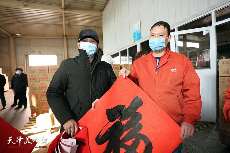 """天津市美协新时代""""红色文艺轻骑兵""""走进静海区"""