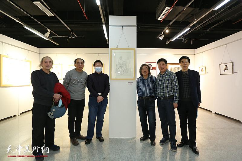 天津画友写生团甘南写生作品汇报展