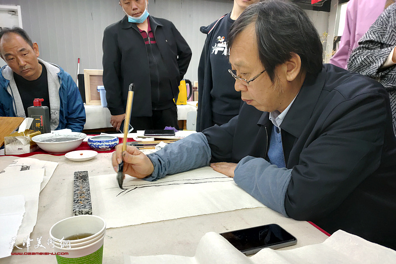 名师讲堂之路洪明教授主讲中国山水画画理与画法研究