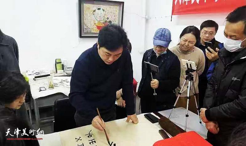 名师讲堂之吕铁元教授主讲书法技法研究