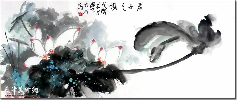 冯大准作品:《君子之风》