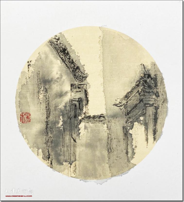"""杨葵""""她·艺术""""部分参展作品:徽"""