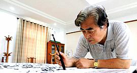 著名书画家陈连羲:草篆是我个人书写的面貌