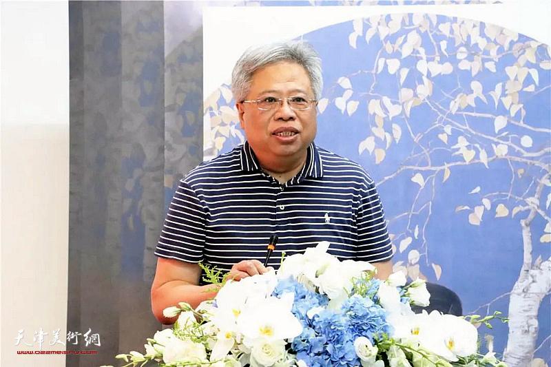 中国艺术经济研究院院长西沐致辞
