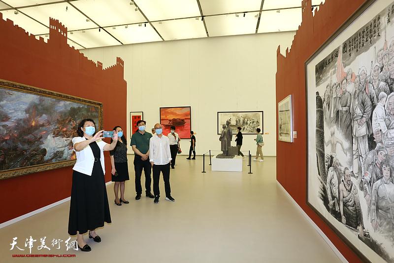天津市庆祝中国共产党成立100周年美术作品展