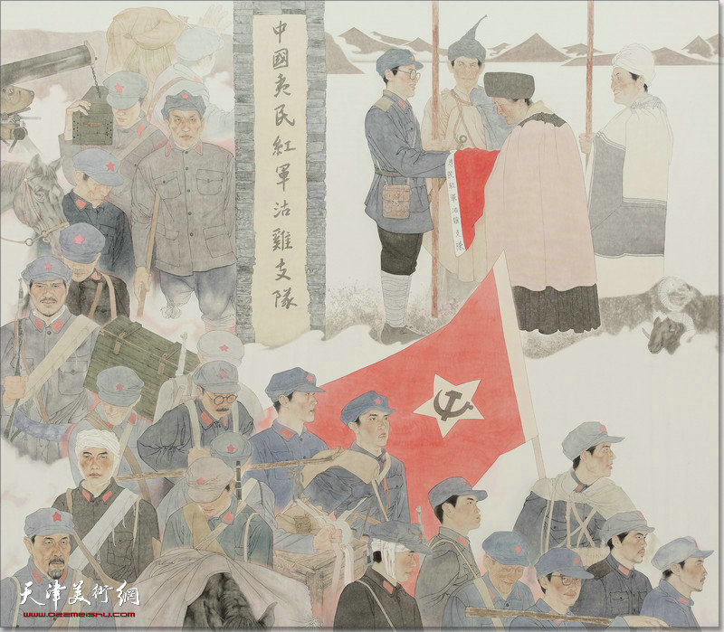 天津市庆祝中国共产党成立100周年美术作品