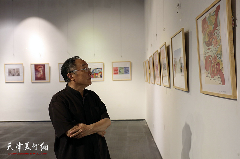 光辉历程·庆祝中国共产党建党100周年天津插图艺术作品展