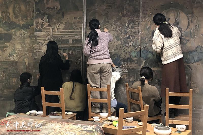 灵岩划代真中来——岩山寺壁画复制工程艺术研讨会