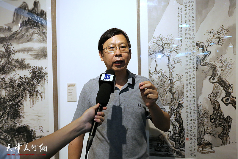 天津美术学院首届水墨为上山水画高研班毕业作品展
