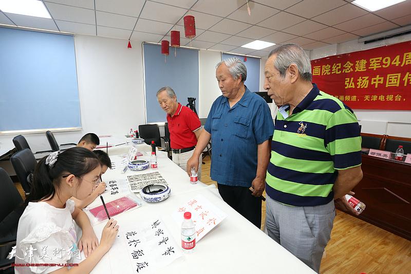 梅江书画院纪念建军94周年书画颂百年,艺术铸丰碑